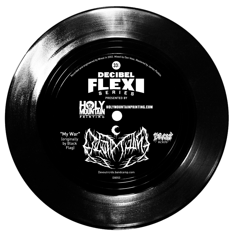"dB053 Leviathan - ""My War"" original by Black Flag flexi"