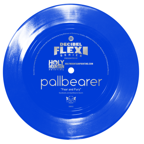 "dB052 Pallbearer ""Fear and Fury"" flexi"