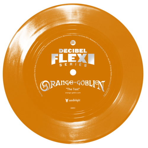 Orange Goblin The Test dB051 Flexi