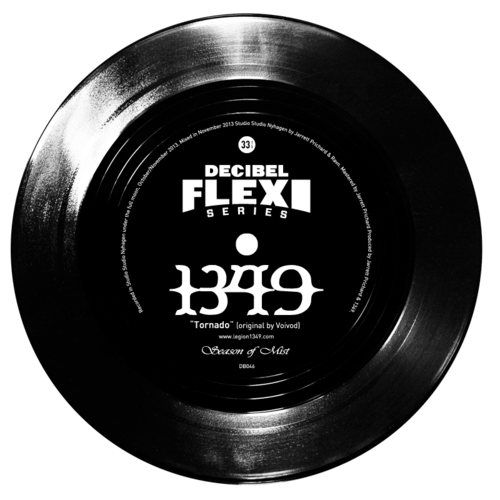 "1349 ""Tornado"" (originally by Voivod) flexi dB046"