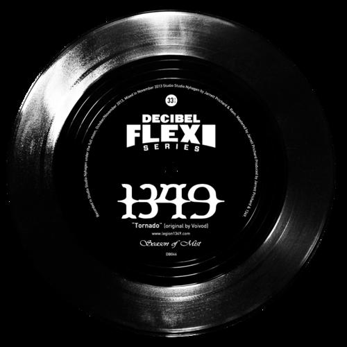 """1349 """"Tornado"""" (originally by Voivod) flexi dB046"""