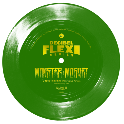 Monster Magnet flexi dB038