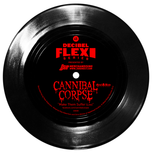 Cannibal Corpse flexi dB030