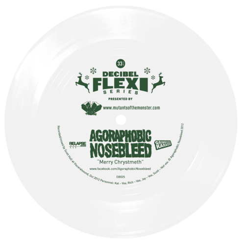 Agoraphobic Nosebleed flexi dB025