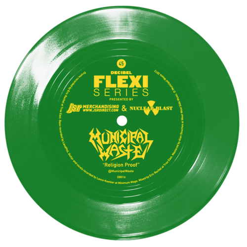 Municipal Waste flexi dB017