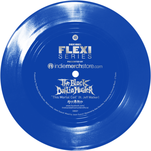 The Black Dahlia Murder flexi dB007