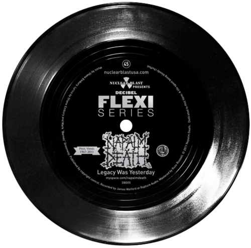 Napalm Death flexi dB005