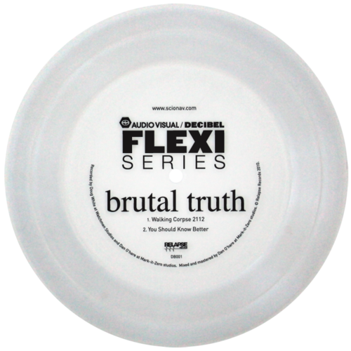 Brutal Truth flexi dB001