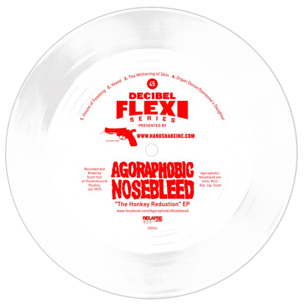 Agoraphobic Nosebleed - 'Honkey Reduxtion' EP dB054
