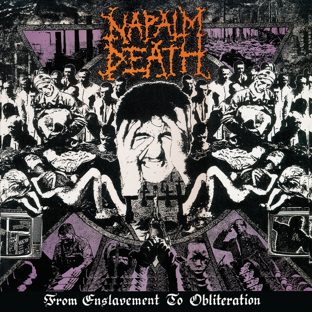 Napalm Death - From Enslavement to Obliteration Decibel Hall of Fame 129