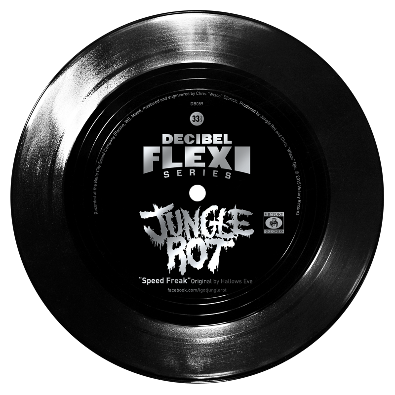 "dB 059 Jungle Rot""Speed Freak"" flexi original by Hallows Eve"