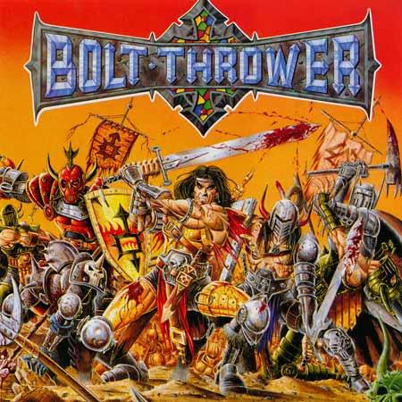 """21) Bolt Thrower """"War Master"""" Combat/Earache"""