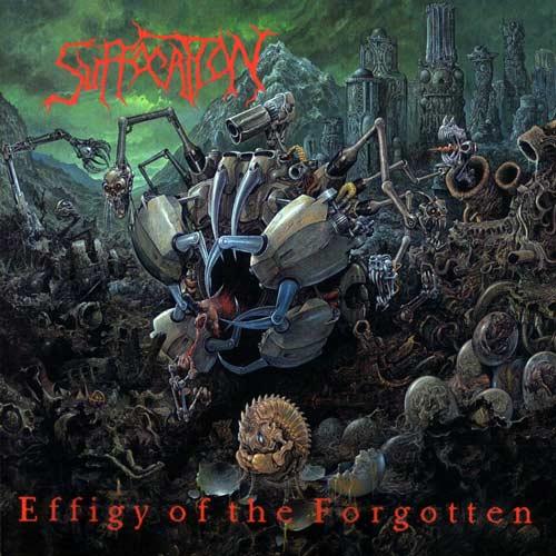 "15) Suffocation ""Effigy of the Forgotten"" Roadrunner"