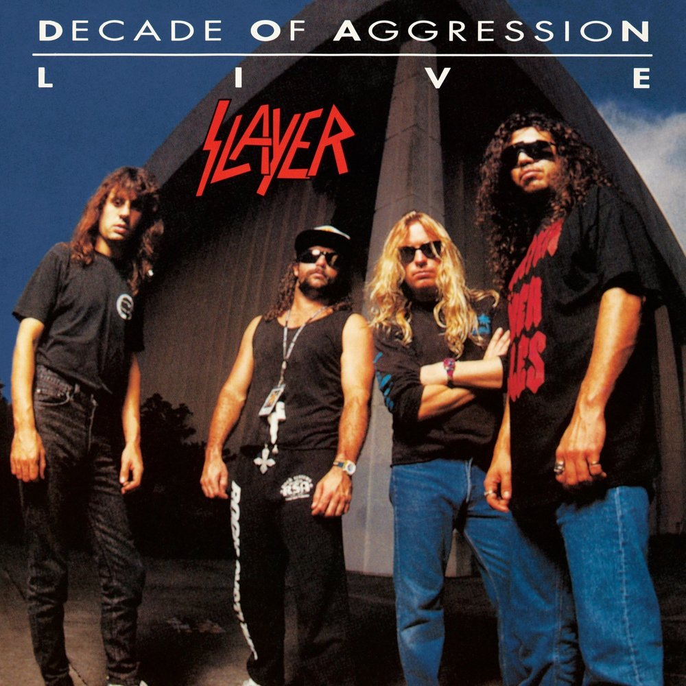 "7) Slayer ""Live: Decade of Aggression"" Def American"