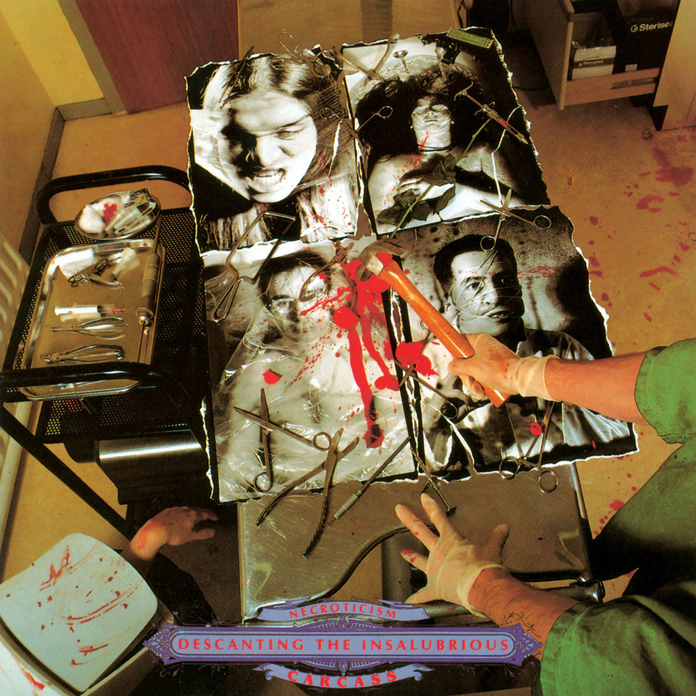 "2) Carcass ""Necroticism - Descanting the Insalubrious"" Earache"