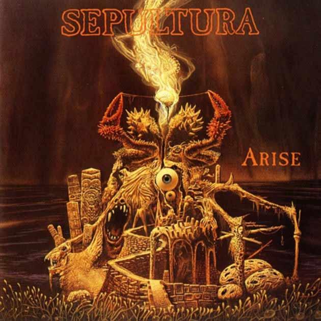 """1) Sepultura """"Arise"""" Roadrunner"""