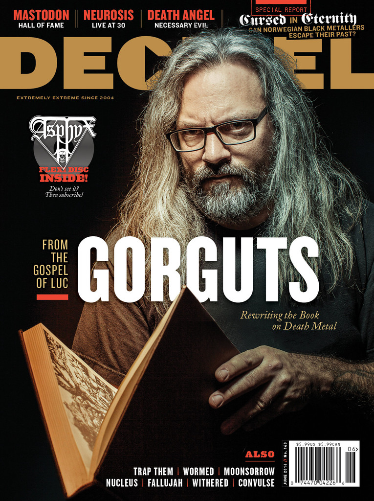 Decibel #140 - June 2016 - Gorguts