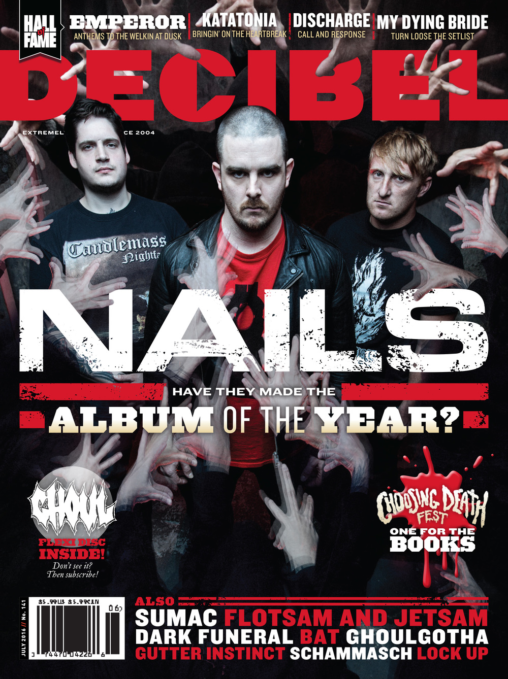 Decibel #141 - July 2016 - Nails