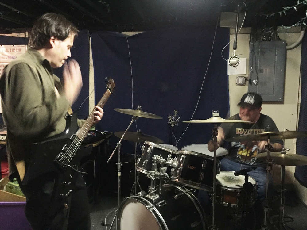 Halbelt and williams rehearsing in weymouth, ma, may 2016