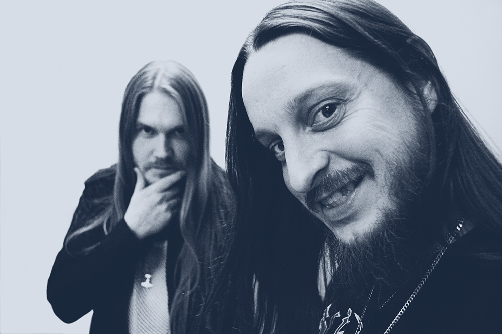 Darkthrone's Fenriz (r).