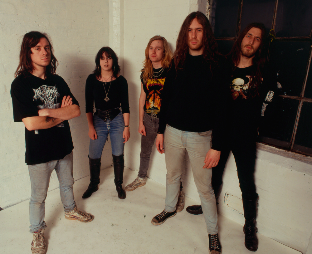 Ask them about the shitty T-shirts: Bolt Thrower circa 1989.