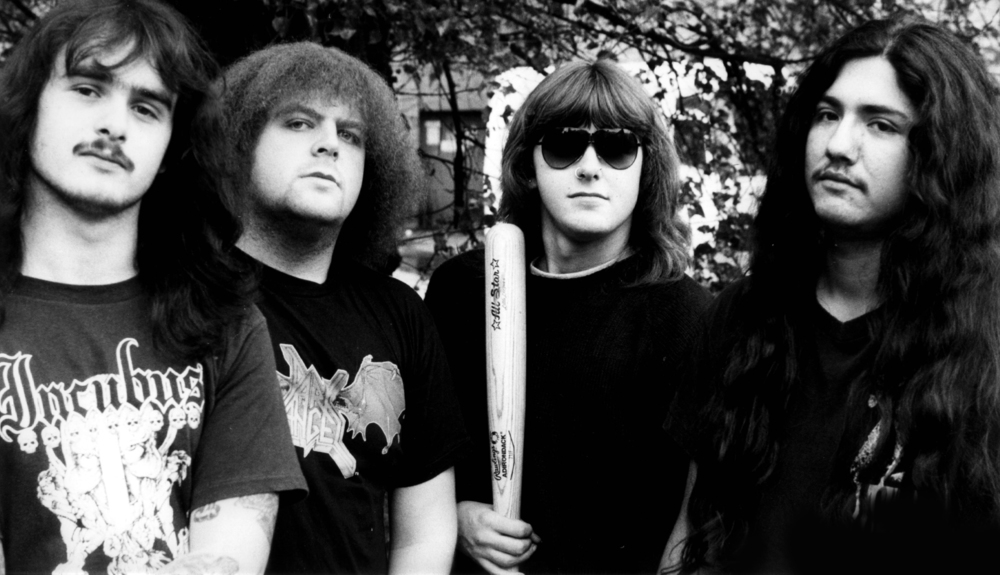 We can't even: Napalm Death and the goddamn baseball bat.