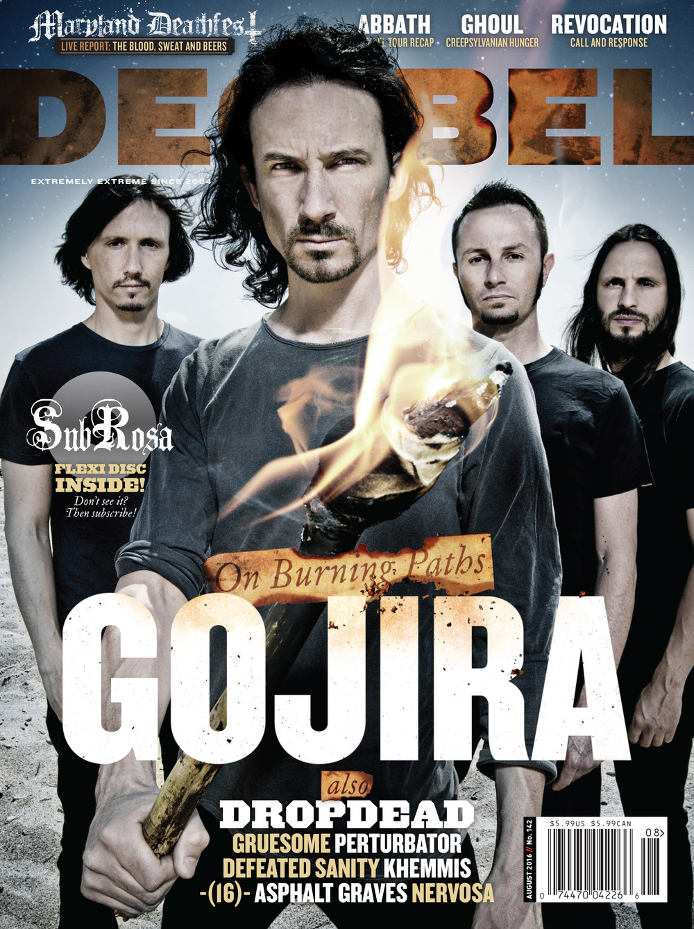 Decibel #142 - August 2016 - Gojira