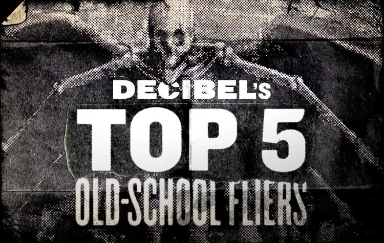 Decibel Old-School Fliers