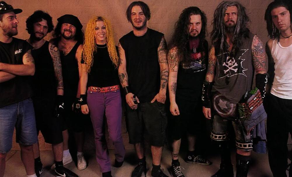 Pantera and White Zombie: add in Eyehategod and you just know it's trouble.