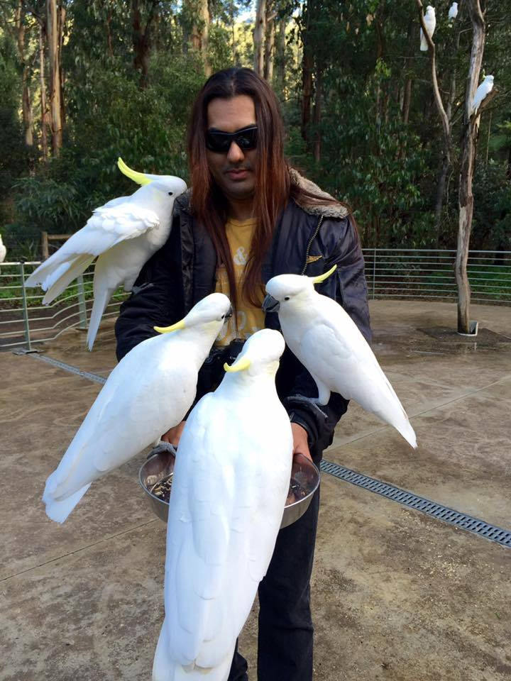 Transcending Obscurity head honcho Kunal Choksi lives for metal. And big-ass birds.
