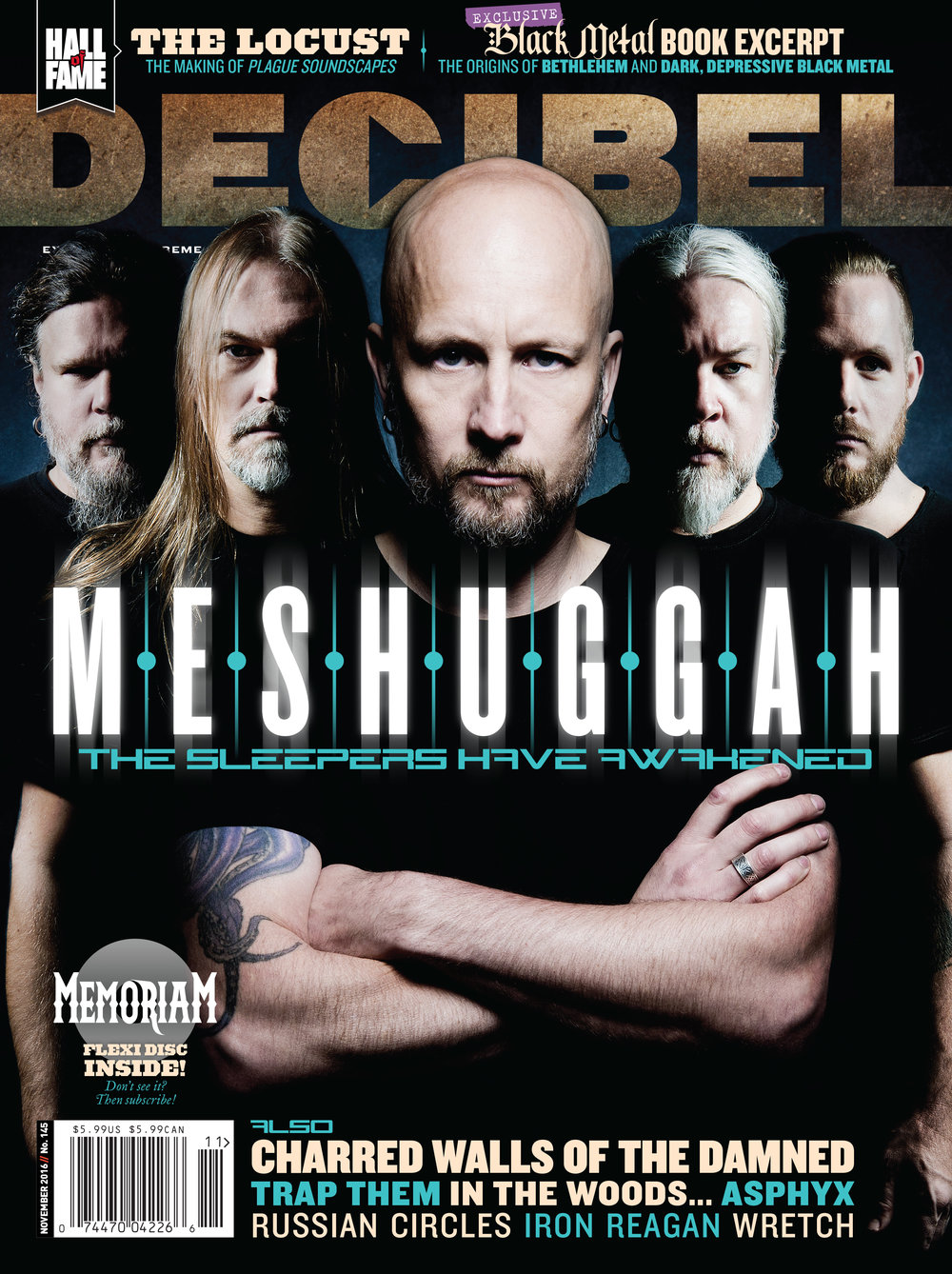 Decibel #142 - November 2016 - Meshuggah