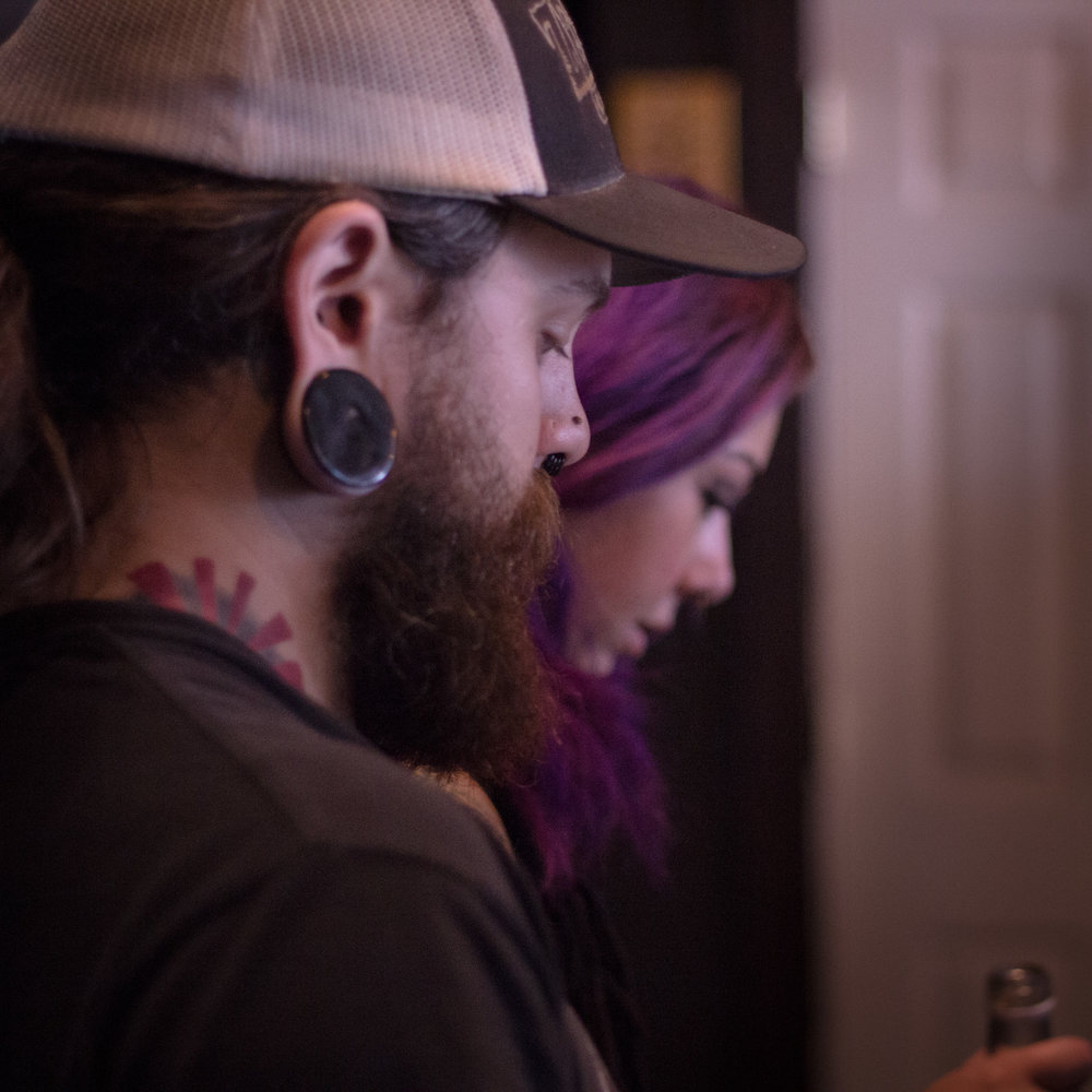Black Forge Coffee's Nick Miller and Ashley Corts.