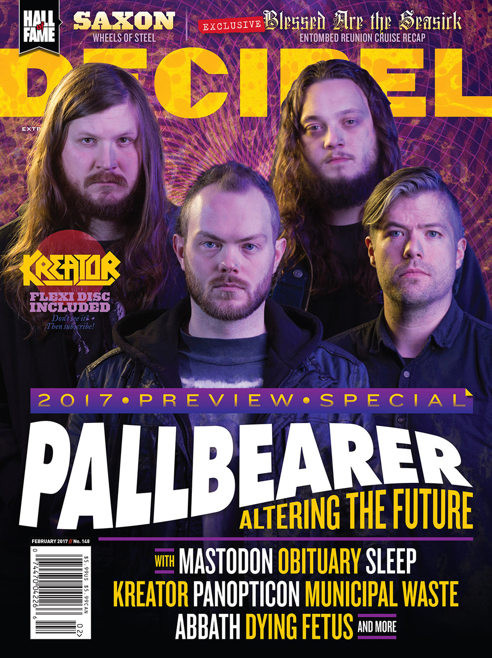 Decibel #147 - February 2017 - Pallbearer