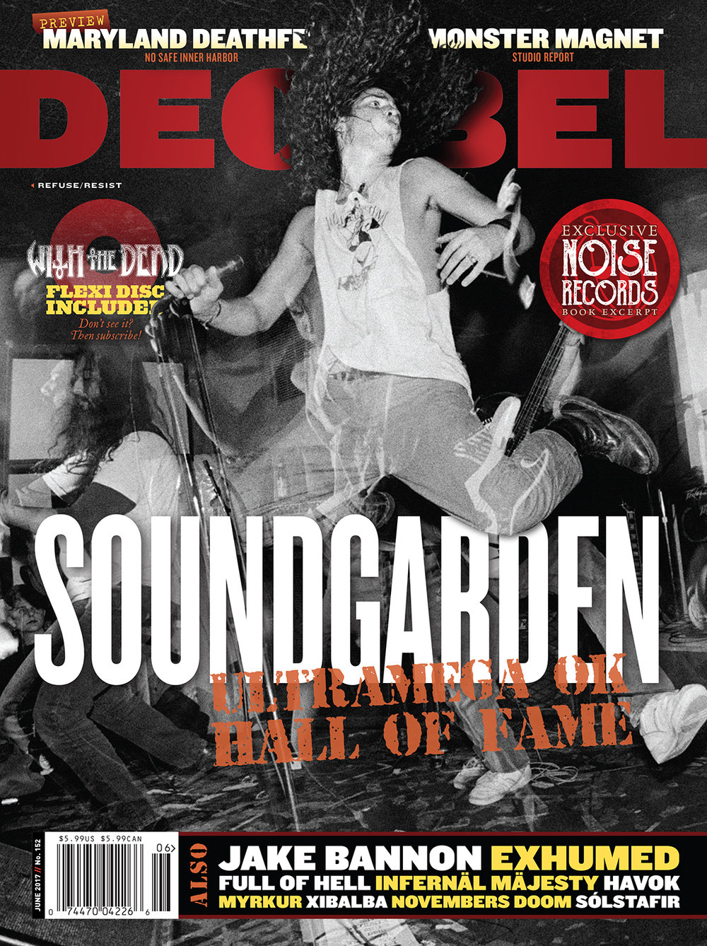 Decibel #152 - June 2017 - Soundgarden