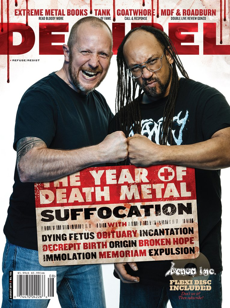 Decibel #154 August 2017 Suffocation cover