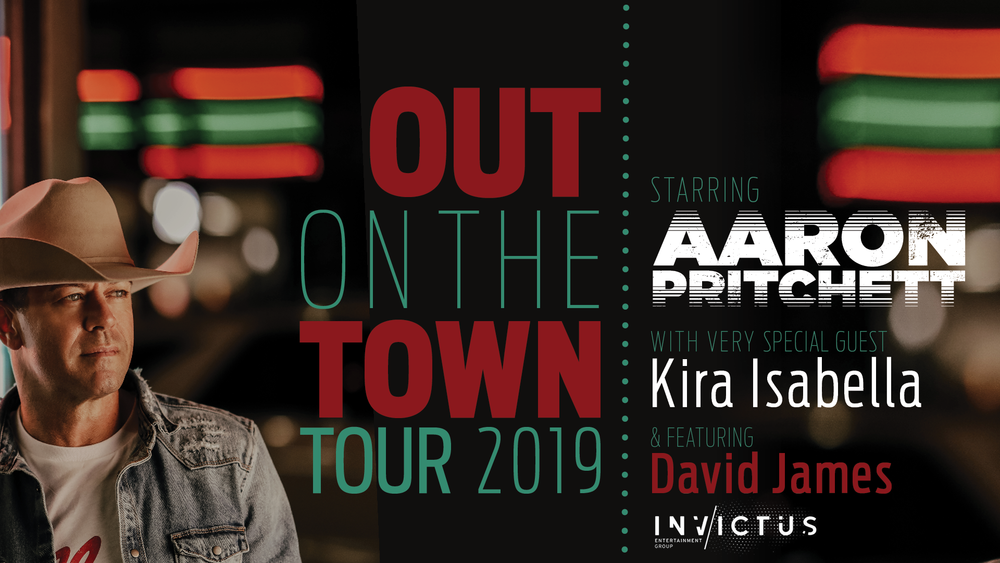 Arron Pritchett's Canada wide Tour ~ Out On The Town / Banner
