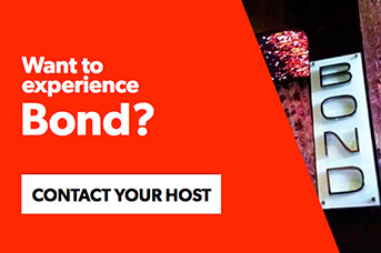 Contact your host to experience Bond