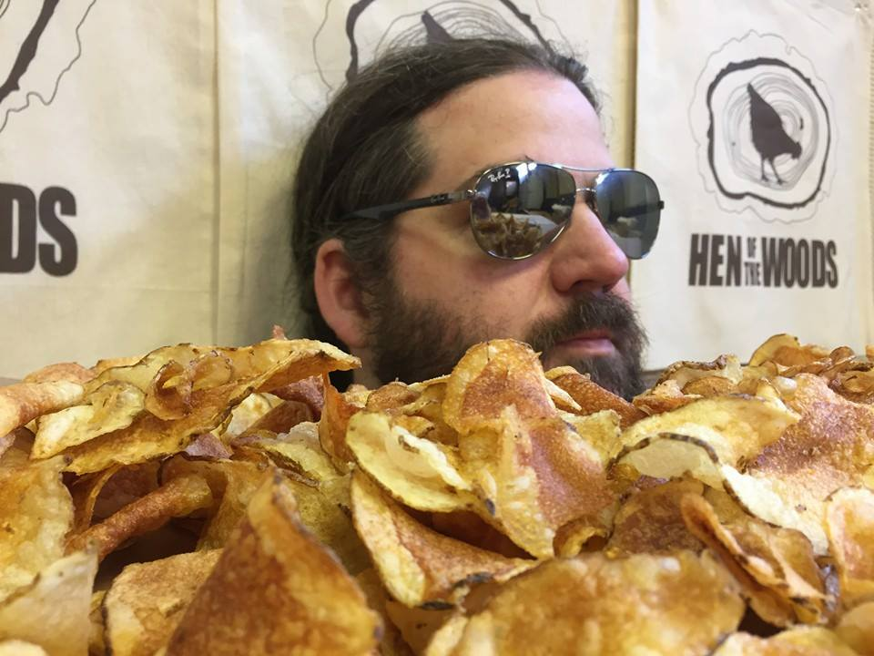 Nick Marckwald of Hen of the woods