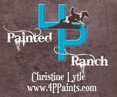 Bronze Level Sponsor  Painted 4P Ranch, Chris Lytle  Wickenburg, AZ  (928) 684-7191   www.4ppaints.com