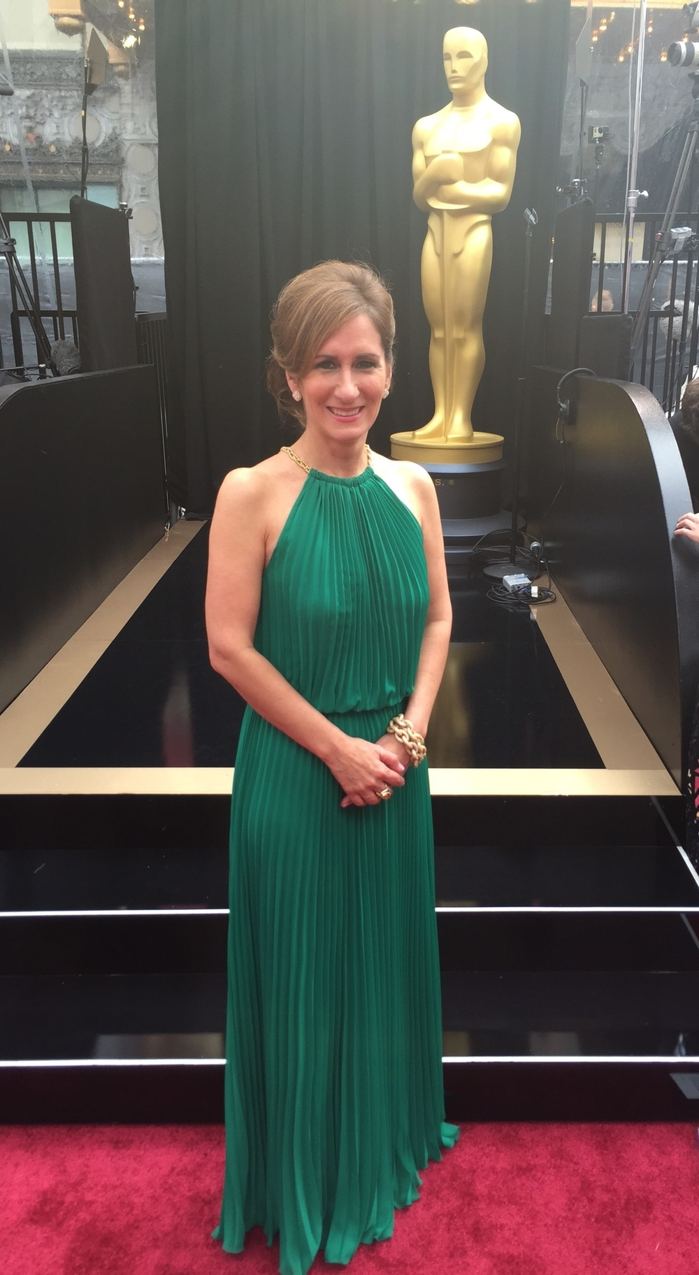 Jo D. at the Oscars