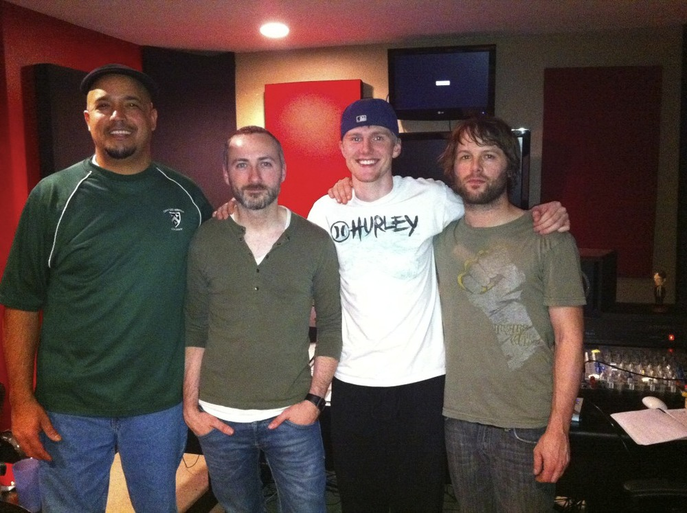 Recording session in Seattle with Tommy Simmons, Rian Lewis and Osama Afifi.  Such a memorable day. Thanks Tommy!.jpg