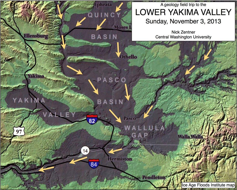 Lower Yakima Valley - Nov 2013