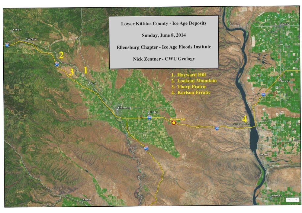 Lower Kittitas County - June 2014