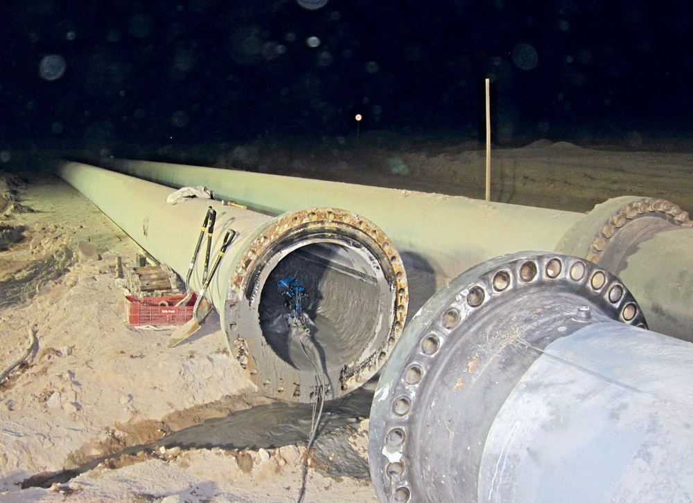 Versatrax 150 inspects Escondido mine pipeline