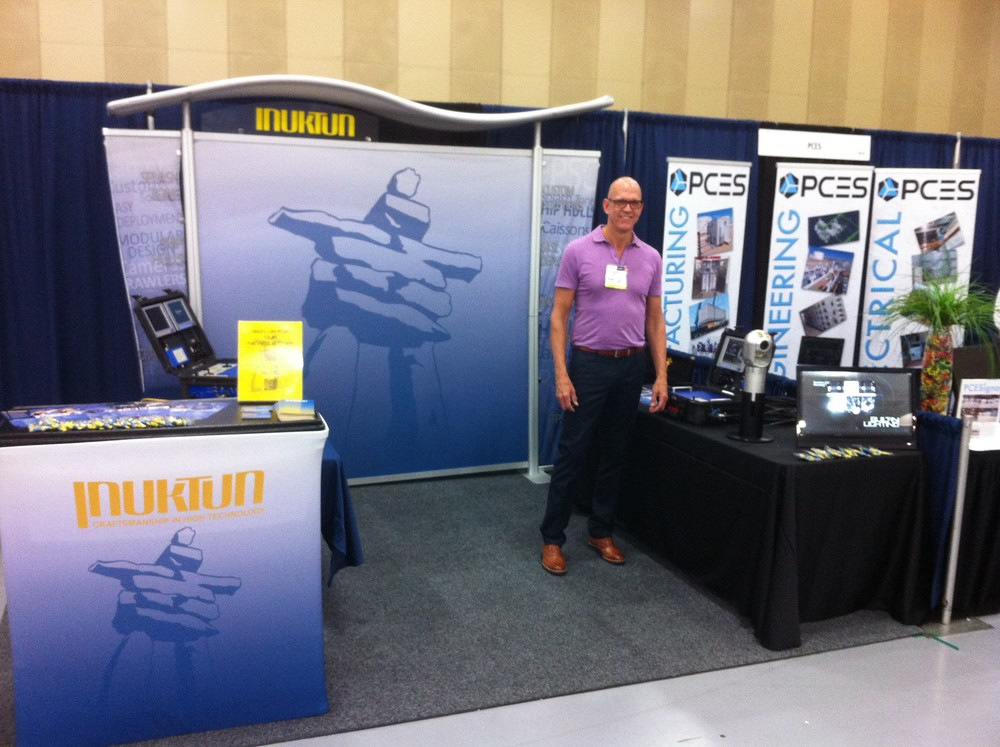 Wade Leach, US National Sales Manager of Inuktun InCommand Robotics LLC at Pipeline + Energy Expo 2015
