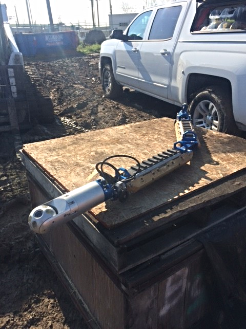 Versatrax 100™ Inline At the Job Site