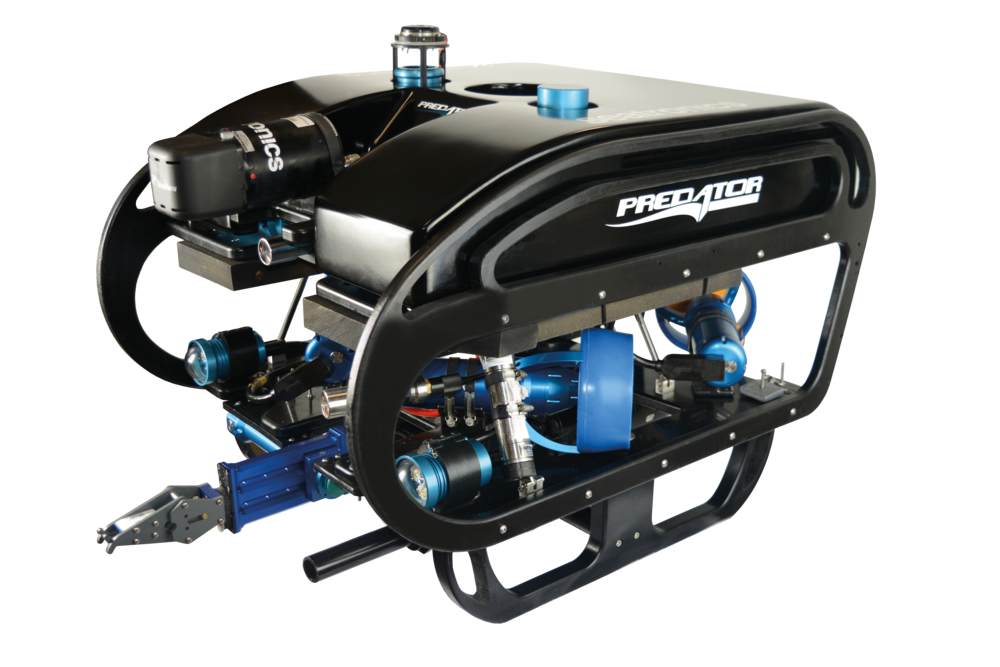 Seatronics Predator ROV Elite with Inuktun Manipulator
