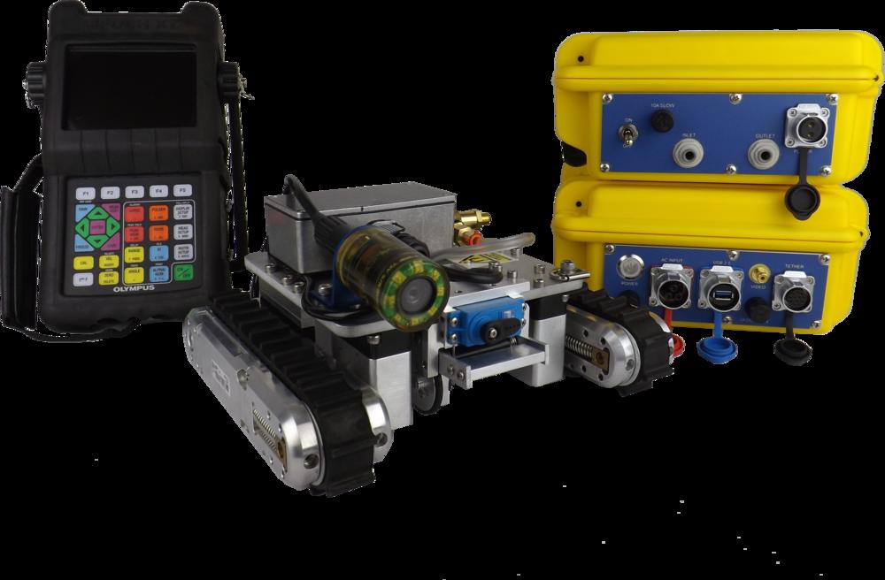 MaggUT™ Miniature Magnetic Crawler
