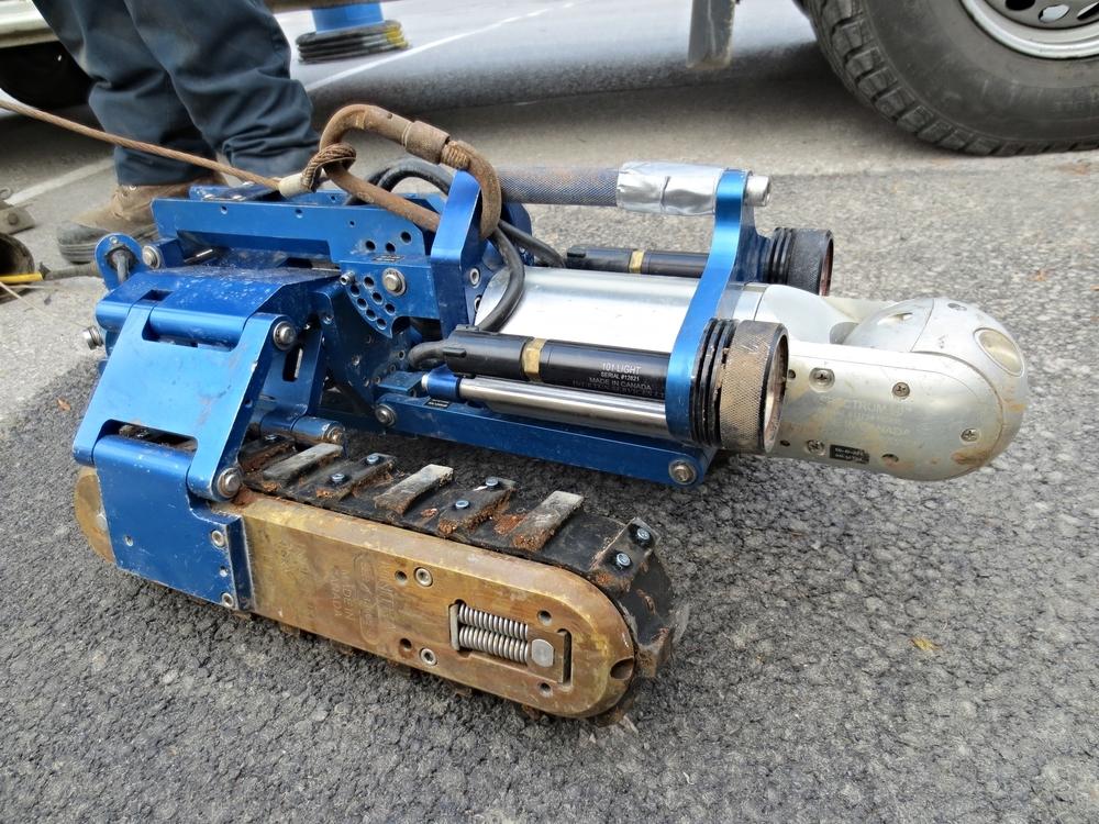 Versatrax 150™ Pipe Inspection Crawler
