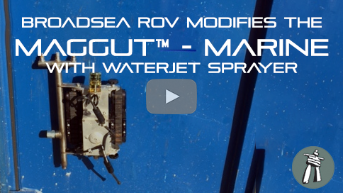 BroadSea ROV uses the MUM for FPSO Cleaning